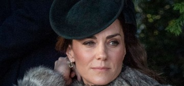 Duchess Kate wore Catherine Walker to the 2019 Sandringham church-walk