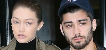 """Happy New Year, Zayn Malik & Gigi Hadid are probably back together"" links"