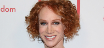 Kathy Griffin married her long-term partner on New Year's Eve