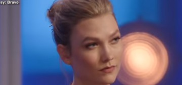 Karlie Kloss got so mad when a Project Runway contestant mentioned the Kushners