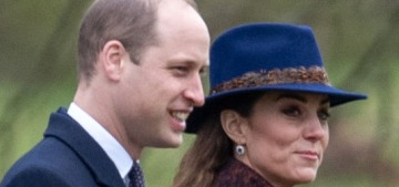 The Cambridges attended church in Sandringham & Rose Hanbury was there
