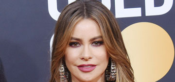 Sofia Vergara in Dolce & Gabbana at the Golden Globes: typical for her?