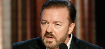 Can this finally be the end of Ricky Gervais hosting the Golden Globes?