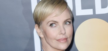 Did Charlize Theron have the best Dior look at the Golden Globes or nah?