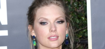 Taylor Swift in Etro at the Golden Globes: not the best but not the worst?