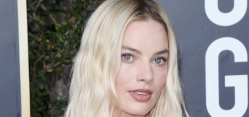 Margot Robbie in Chanel at the Golden Globes: lovely or too informal?