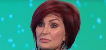 Sharon Osbourne fired an assistant after he saved paintings from her burning house
