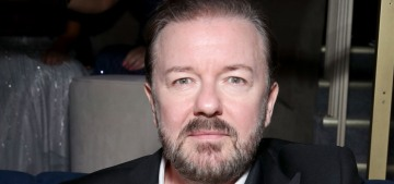 Ricky Gervais's Golden Globes performance was amplified by the worst people