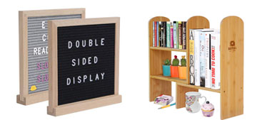 Core sliders, a letter board for Instagram and a posture corrector