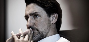 Justin Trudeau grew a salt-and-pepper vacation beard: hot or not?
