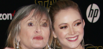 Billie Lourd stepped in to play mom Carrie Fisher for The Rise of Skywalker
