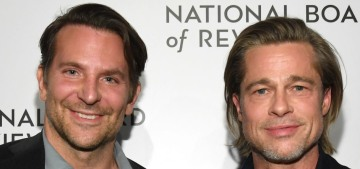 Brad Pitt to Bradly Cooper: 'I got sober because of this guy'