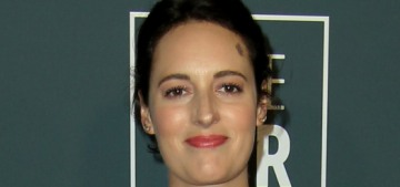 Phoebe Waller Bridge in Dior at the Critics' Choice Awards: lovely & chic?