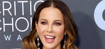 Kate Beckinsale in Julien MacDonald at the Critics' Choice Awards: too much?