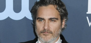 Why aren't we talking about how Joaquin Phoenix is playing the game this year?