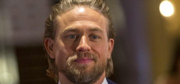 Charlie Hunnam doesn't want to marry his girlfriend Morgana but she's 'very eager'