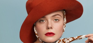 Elle Fanning: 'I'm told I have a very period face. I don't know what that means'