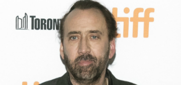 Nicolas Cage thinks everyone should watch 'Marriage Story'