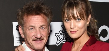 Sean Penn, 59, and Leila George, 27, attended his 2020 CORE gala together
