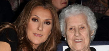 Celine Dion opens up about her mom passing, she was by her bedside