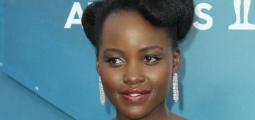 Lupita Nyong'o in Louis Vuitton at the SAGs: kind of a second-choice look, right?