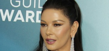Catherine Zeta-Jones in Julien X Gabriela at the SAG Awards: yikes or fine?