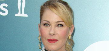 Christina Applegate in Monique Lhuillier at the SAGs: fug or just ok?