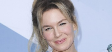 Renee Zellweger in Maison Margiela at the SAGs: great dress & weird Southern accent?