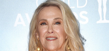Catherine O'Hara in Marc Jacobs at the SAGs: striking or too orange?