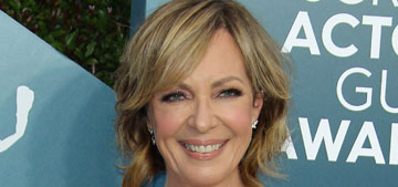 Allison Janney in Pamella Roland at the SAGs: weird or kind of cool?