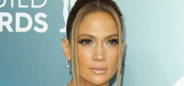 Jennifer Lopez in Georges Hobeika at the SAGs: sad & droopy?
