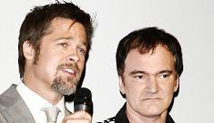Quentin Tarantino: Brad Pitt's no longer a pretty boy, he's an icon