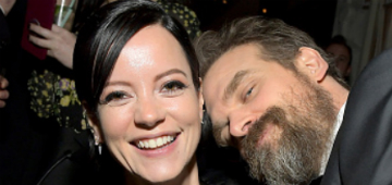 David Harbour & Lily Allen went to the SAGs together and he gushed over her