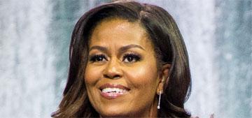 Michelle Obama's 2020 workout playlist includes Lizzo, Ariana Grande