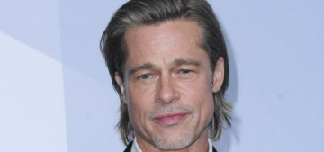 Brad Pitt & Jennifer Aniston went to the same SAG after-party & did not hang out