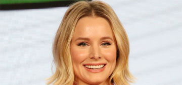 Kristen Bell's daughters, 5 and 6, look at her 'with disgust,' isn't that a little early?