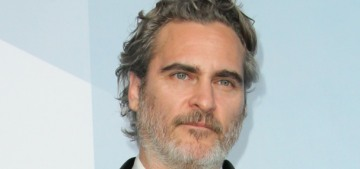 Joaquin Phoenix went from the SAG Awards to a pig slaughterhouse