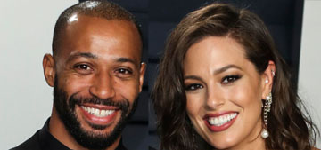 Ashley Graham and her husband Justin Ervin welcomed their first child