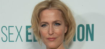 Gillian Anderson tossed the 'Sex Education' script, her partner dug it out of the garbage