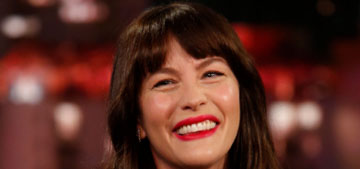 Liv Tyler lives in London and can't get the hang of the 24 hour clock or Celsius