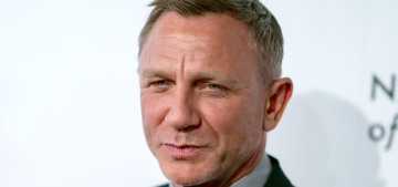 Daniel Craig is already sleepwalking through promotion for 'No Time to Die'