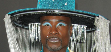 Billy Porter wore a hat with remote control tassels to the Grammys: amazing?