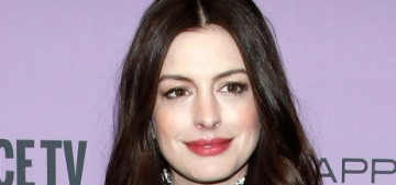 Anne Hathaway doesn't think we should 'panic' about the state of women in H'wood
