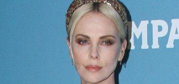Charlize Theron in Louis Vuitton at the CDGAs: best look of the awards season?