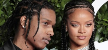 Rihanna & A$AP Rocky are hooking up but they're not putting a label on it