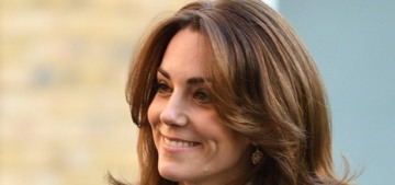 Duchess Kate is 'so happy' that 100,000 people have taken her dumb survey