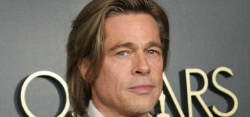 Theory: Brad Pitt has worked with an Oscar strategist & speechwriter for months