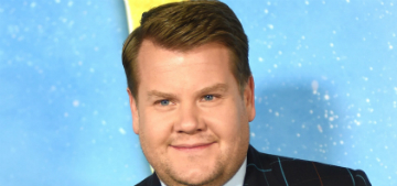 James Corden: movies make it seem like overweight people don't have sex
