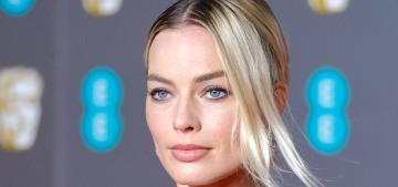 Margot Robbie accepted Brad Pitt's BAFTA on his behalf & there were 'jokes'