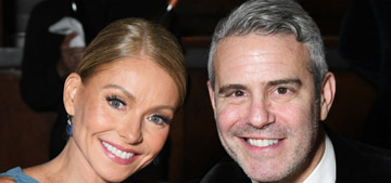 Andy Cohen: Kelly Ripa told me I had skin cancer and to get to the doctor